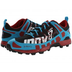 Inov-8 X-Talon 212 trail running shoes, blue/chilli (PRECISION fit model)