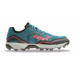 Inov-8 Arctic Talon 275 running shoes with metal spikes, Black/Green/Pink