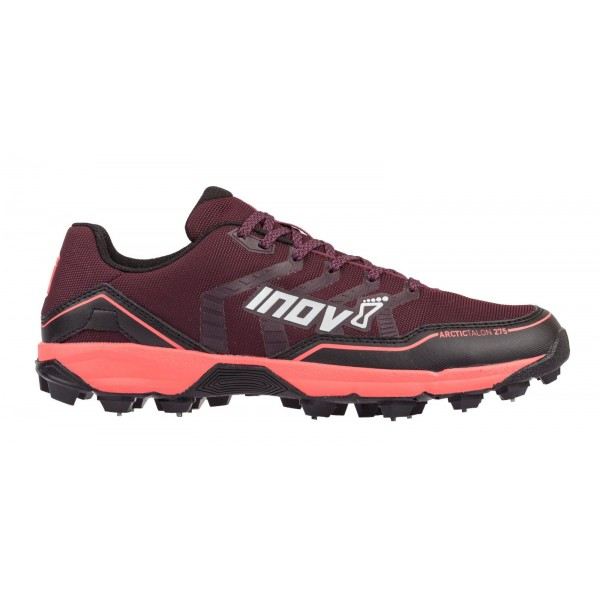 Inov-8 Arctic Talon 275 running shoes with metal spikes, Purple /Black