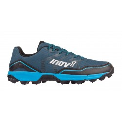 Inov-8 Arctic Talon 275 running shoes with metal spikes, Blue Green /Black