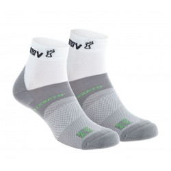 INOV-8 ALL TERRAIN SOCK MID, White - Grey (DOUBLE PACK)