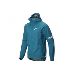 Inov-8 STORMSHELL WATERPROOF JACKET for men, 20000 HH, Blue/Green