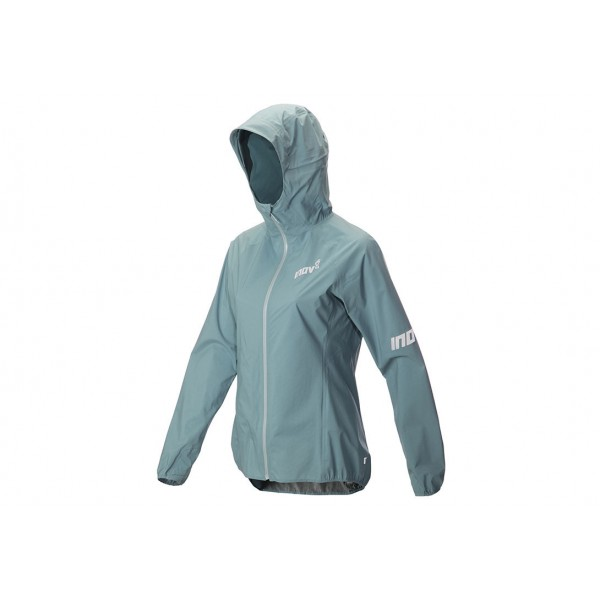 Inov-8 STORMSHELL WATERPROOF JACKET for women, Blue/Grey, 20000 HH