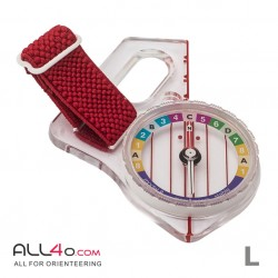Moscompass Model 8 Rainbow orienteering compass