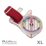Moscompass Model 8* Super Elite orienteering thumb compass