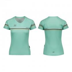 NONAME WS RUN T-SHIRT WO'S 20 women's running shirt, teal
