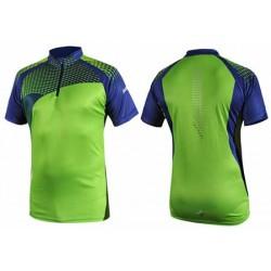 Noname COMBAT nylon t-shirt, Lime/Navy