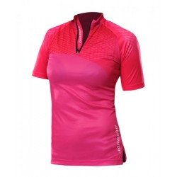 COMBAT nylon t-shirt for women, pink