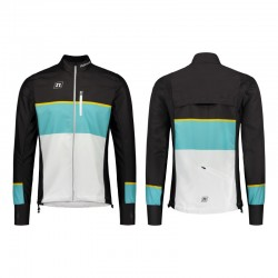 NONAME WS RUNNING PLUS jacket Unisex, White-Teal-Black