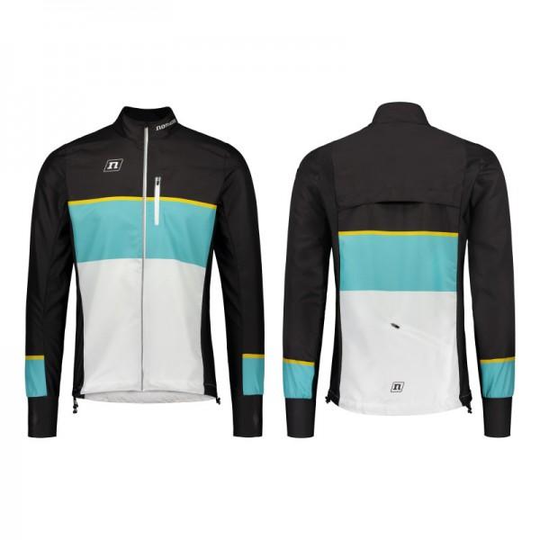 NONAME WS RUNNING PLUS jacket Unisex, White-Teal-Black