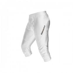 Noname TERMINATOR 3/4 nylon pants, white