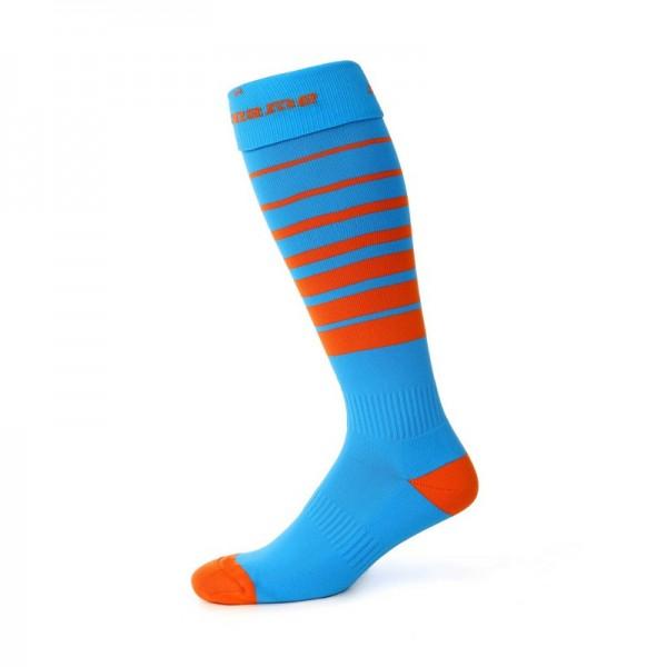 Noname O-SOCKS orienteering socks, Sky / Orange
