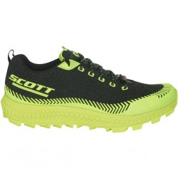 SCOTT SUPERTRAC ULTRA RC trail running shoe, Black/Yellow