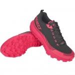 SCOTT SUPERTRAC ULTRA RC trail running shoe, Black/Pink
