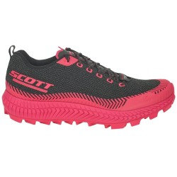 SCOTT SUPERTRAC ULTRA RC trail running shoe, Black/Pink