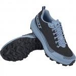 SCOTT SUPERTRAC ULTRA RC Women's trail running shoe, Black/Glace Blue