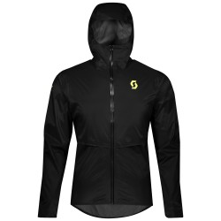 SCOTT RC RUN WP MEN'S jacket, black/yellow