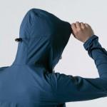 SCOTT TRAIL RUN WB LIGHT W/HOOD Women's jacket, lunar blue