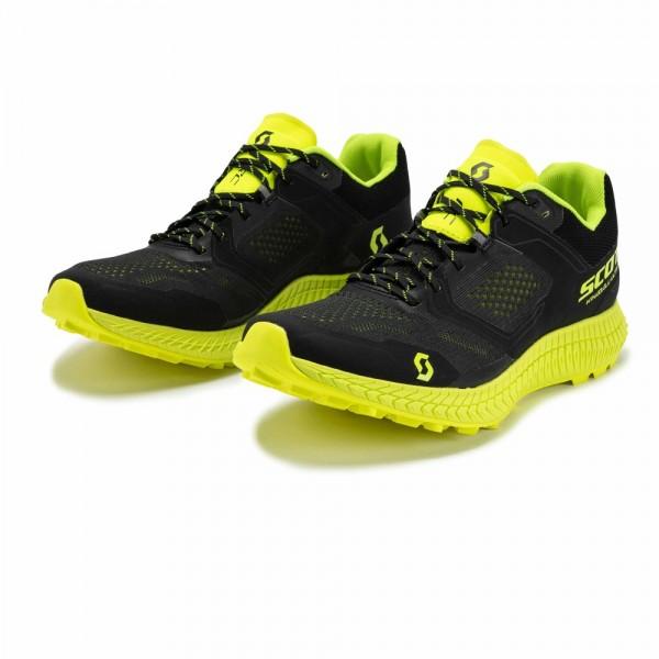 SCOTT KINABALU ULTRA RC trail running shoe, Black/Yellow